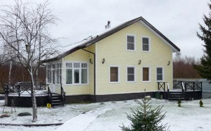 гостевой дом №2 зимой
